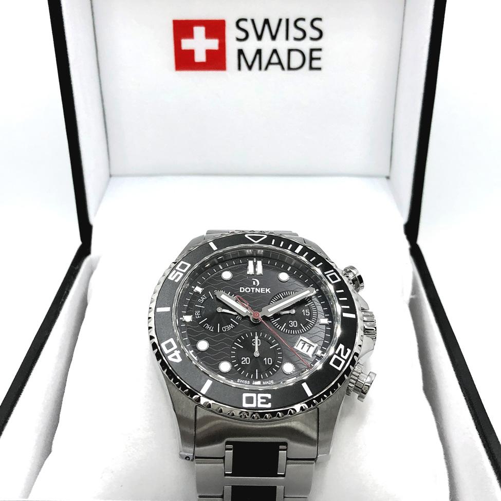 Swiss made watch with 2 year International warranty